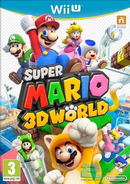 Super Mario 3D World | تاپ 2 دانلود