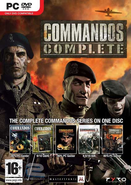 Commandos Complete Collection | تاپ 2 دانلود