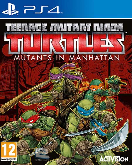 TMNT Mutants in Manhattan   تاپ 2 دانلود
