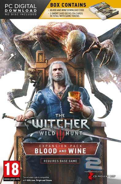 The Witcher 3 Wild Hunt Blood and Wine | تاپ 2 دانلود