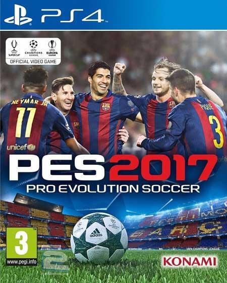Pro Evolution Soccer 2017   تاپ 2 دانلود