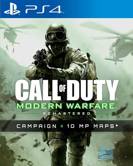 دانلود بازي Call of Duty Modern Warfare Remastered براي PS4