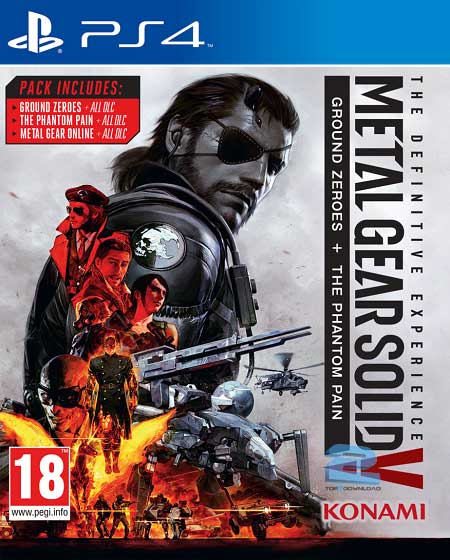 Metal Gear Solid V The Definitive Experience | تاپ 2 دانلود