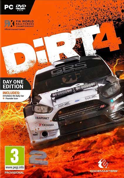دانلود بازی DiRT 4 برای PC