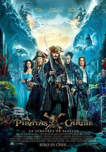 دانلود فیلم Pirates of the Caribbean Dead Men Tell No Tales 2017