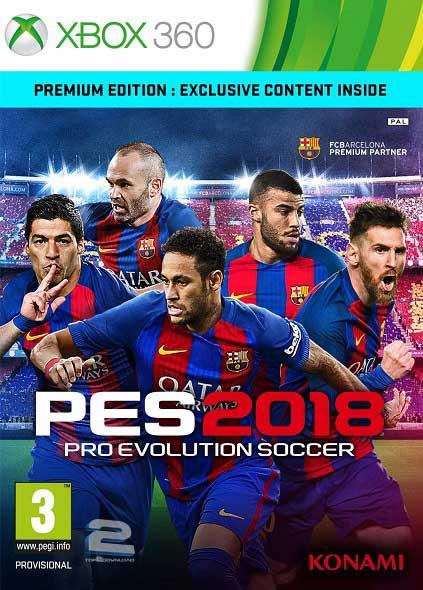 Pro Evolution Soccer 2018 | تاپ 2 دانلود