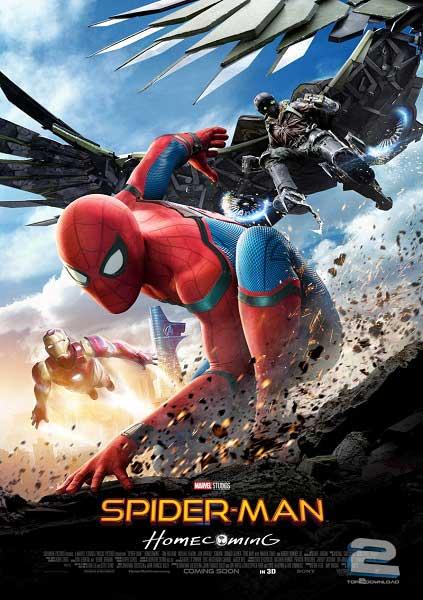 Spider-Man Homecoming 2017   تاپ 2 دانلود