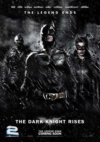 The Dark Knight Rises 2012 | تاپ 2 دانلود