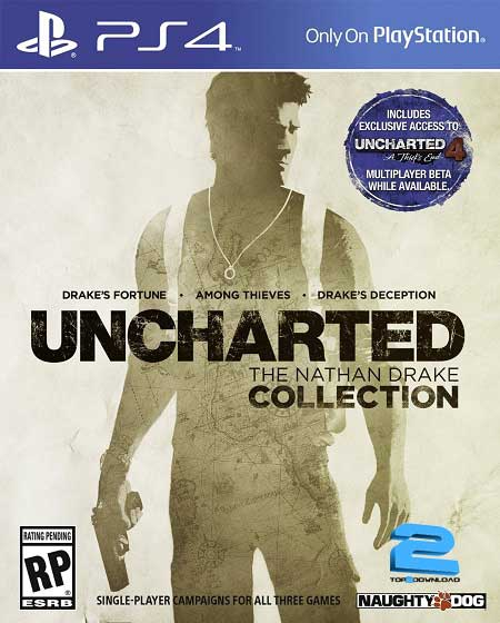 UNCHARTED The Nathan Drake Collection | تاپ 2 دانلود