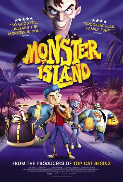 دانلود انیمیشن Monster.Island.2017.1080p.WEB.x264-STRiFE