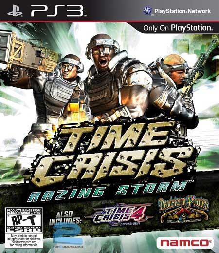 Time Crisis Razing Storm | تاپ 2 دانلود