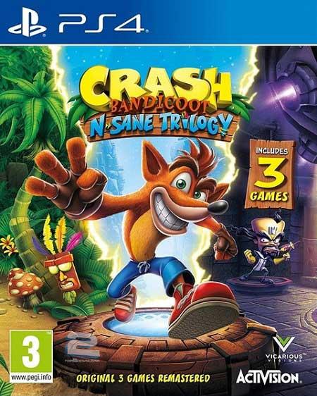 Crash Bandicoot N Sane Trilogy | تاپ 2 دانلود