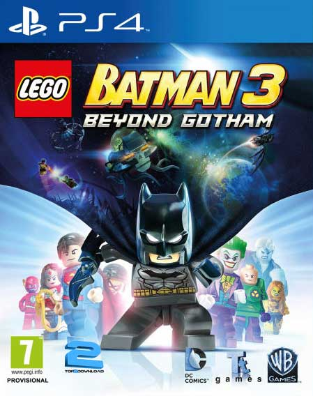 LEGO Batman 3 Beyond Gotham | تاپ 2 دانلود