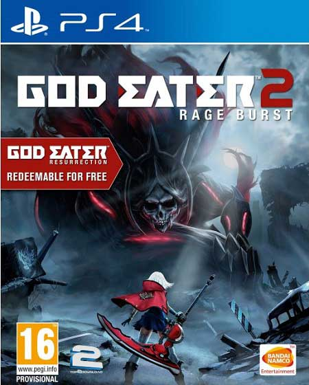 GOD EATER 2 Rage Burst | تاپ 2 دانلود