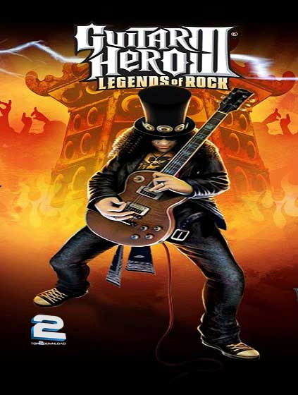 Guitar Hero III Legends of Rock | تاپ 2 دانلود