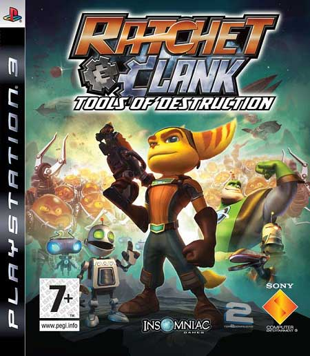Ratchet and Clank Future Tools of Destruction | تاپ 2 دانلود