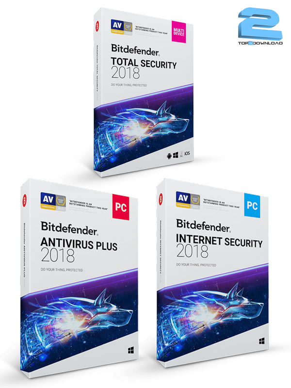 دانلود نرم افزار Bitdefender Antivirus/ Bitdefender Total Security/ Bitdefender Internet Security