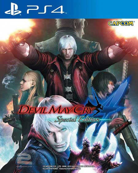 Devil May Cry 4 Special Edition   تاپ 2 دانلود