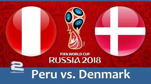 FIFA World Cup 2018 Group C Peru vs Denmark | تاپ 2 دانلود